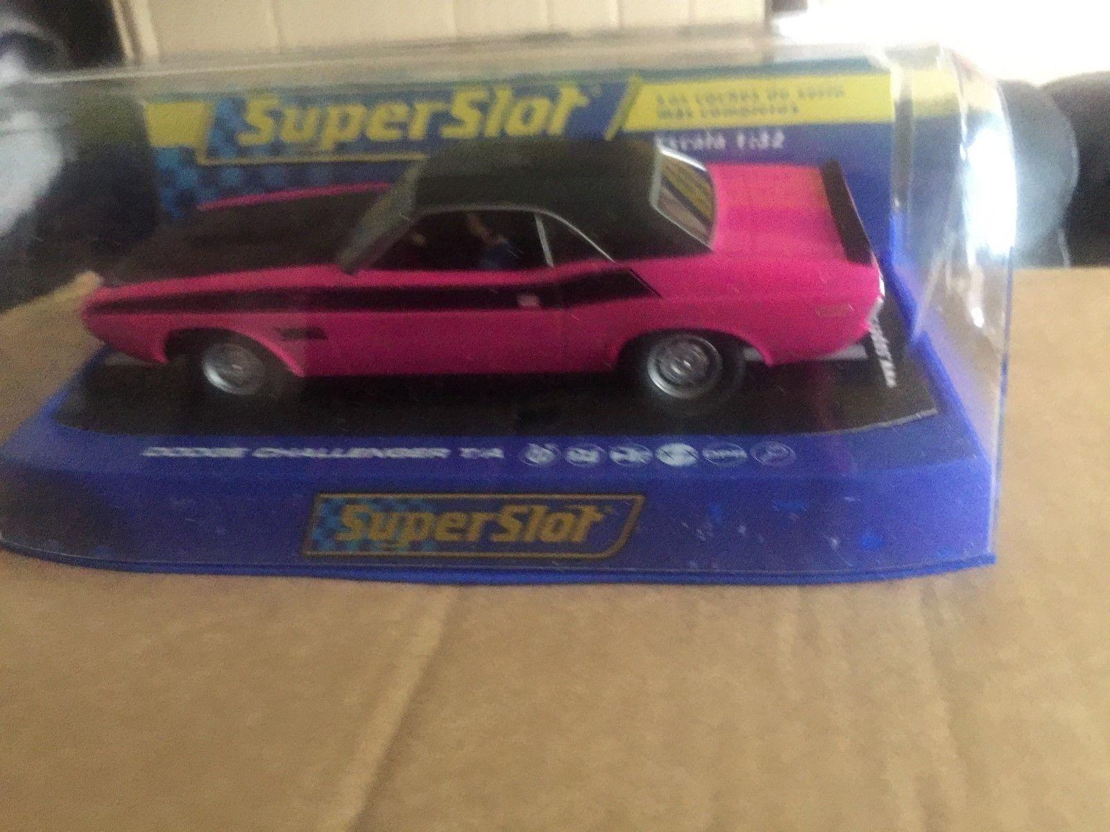 Scalextric/Superslot C3537 Dodge Challenger T/a' 340 seis Pak' Pak' Pak' - bf35e9