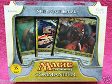 SPANISH Magic MTG 2011 Commander C11 Sealed Heavenly Inferno Deck The Gathering