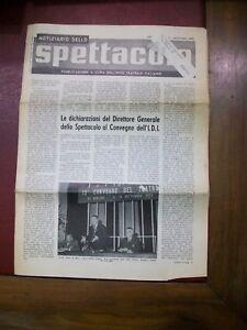 Notiziario dello spettacolo - n.7 ottobre 1963