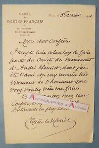 L-A-S-1932-Eugene-LE-MOUEL-poete-Villedieu-les-Poeles-Manche-Comite-Theuriet