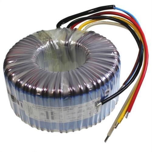 2x 80va strobelt Anillo núcleo de transformador anillo núcleo transformador 230v//2x 25v