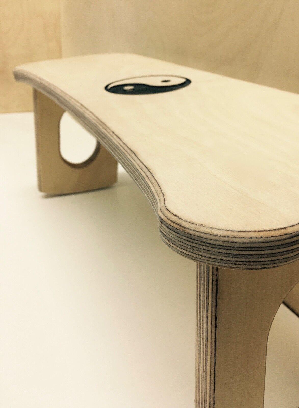 Meditation Stool - Birch ply construction, Folding, Very Portable, Hand Finished