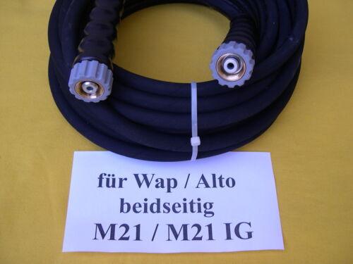 15m Schlauch M21//M21 für Wap Alto SC 702 710 720 730 740 780 W Hochdruckreiniger