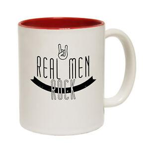 Funny Mugs Banned Member Real Men Rock Band Rock Pop Christmas MUG