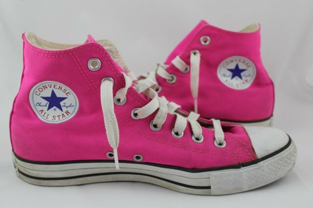 e518afe6ab05 Converse All Star Chuck Taylor® Unisex High Top Sneaker HOT PINK- Men-8