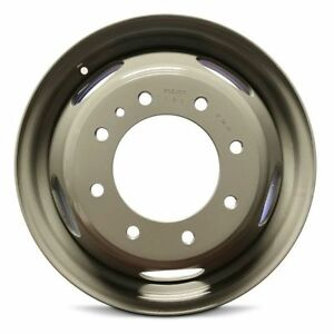Dually DRW Steel Wheel Rim 17 Inch 11-19 Chevy Silverado GMC Sierra 3500 Pickup