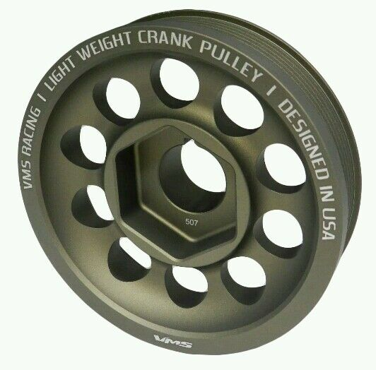 Lightweight Crankshaft Crank Pulley For Acura RSX Type S