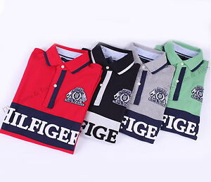 NEW-TOMMY-HILFIGER-MENS-MESH-POLO-RUGBY-LOGO-SHIRT-SHORT-SLEEVE