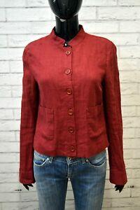 MAX-amp-Co-Giacca-PURO-LINO-Maglia-Blusa-Donna-Taglia-44-Camicia-Jacket-Shirt-Woman