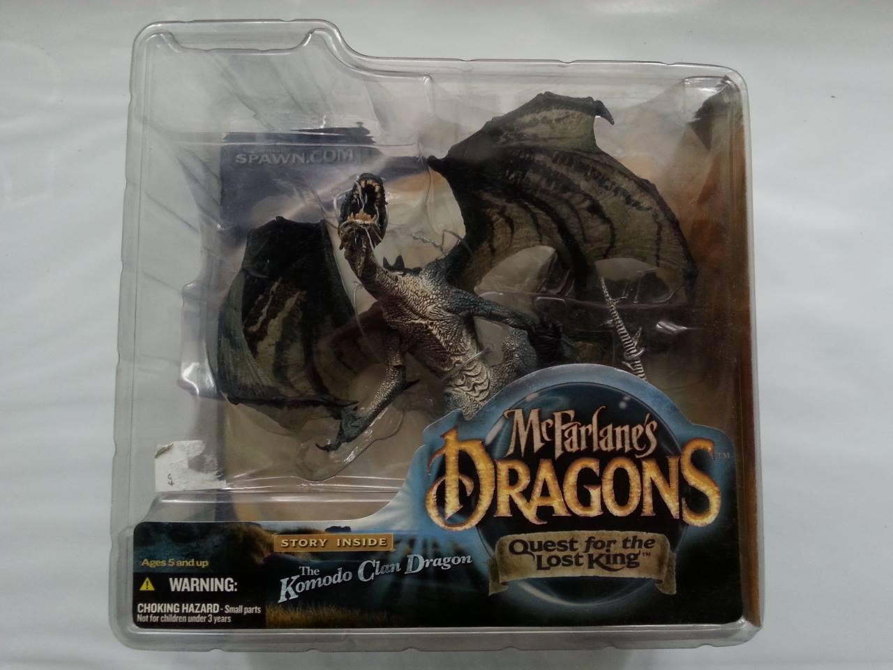 McFarlane Dragons Serie 1 - Komodo Clan Dragon