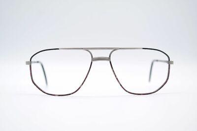 Compiacente Vintage L 'art 1389 217 56 [] 16 135 Grigio Ovale Occhiali Montatura Eyeglasses- Elegante Nello Stile