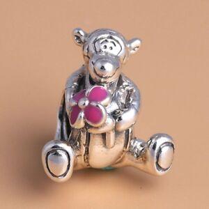 Tigger Silver Winnie The Pooh Disney Charm Fits European styled Bracelet uk gift
