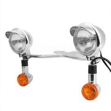 Passing Auxiliary Fog lights fit for Yamaha V-Star 950 1100 1300 Classic Tourer