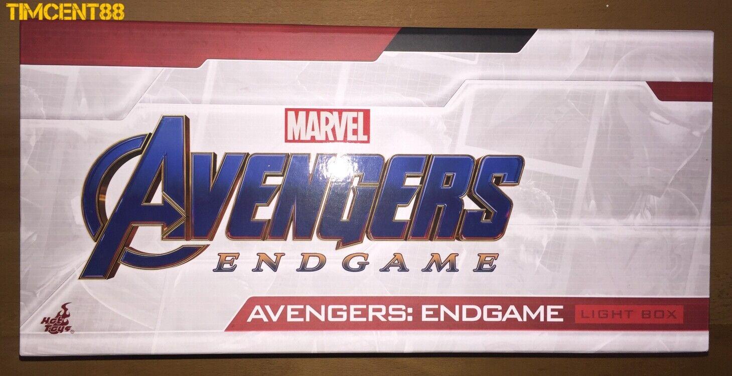 Ready  Hot Toys Marvel Avengers Endgame Light Box New