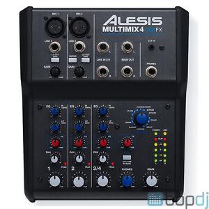 Remarkable Alesis Multimix 4 Usb Fx Home Recording Studio Mixer Audio Largest Home Design Picture Inspirations Pitcheantrous