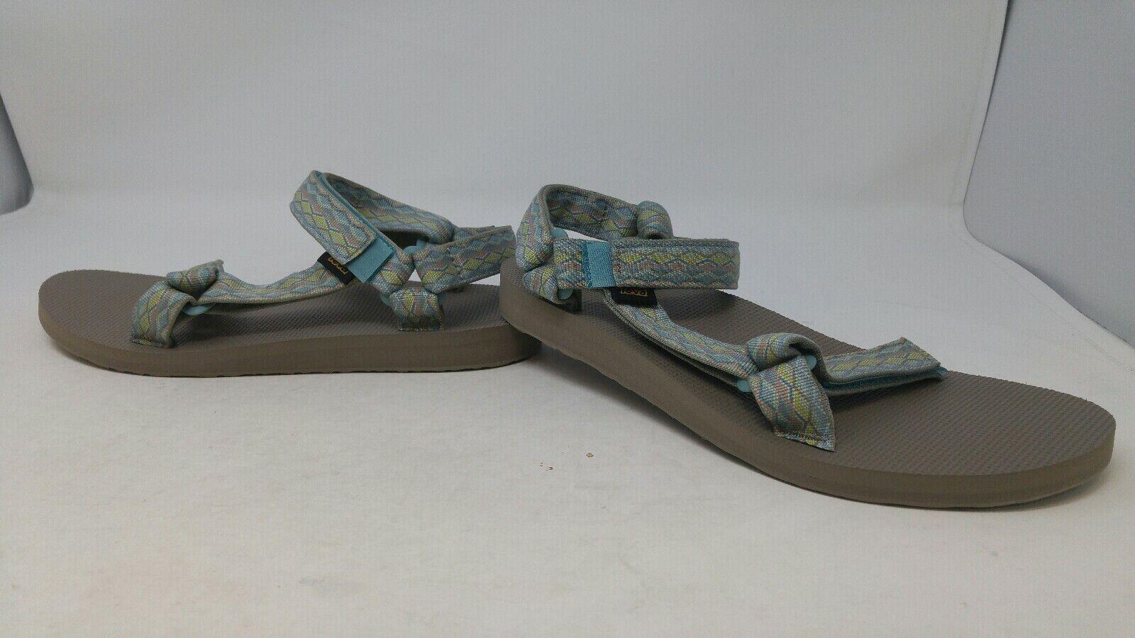 Teva Original Universal Femme SANDALE Talon Bas chaussures Talon Bas Taille 10
