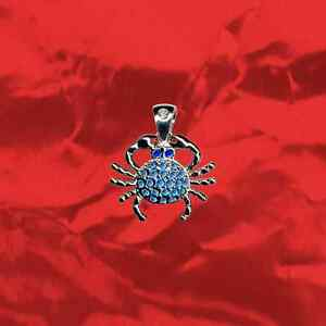 Luxus-Sternzeichen-Krebs-Anhaenger-Echt-925-Sterling-Silber-Zirkonia-Kristall
