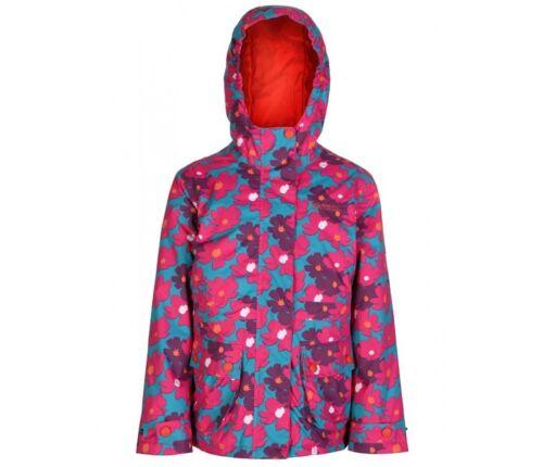 Regatta Coat Regatta Girls Bouncy Enamel Waterproof Floral Print Jacket