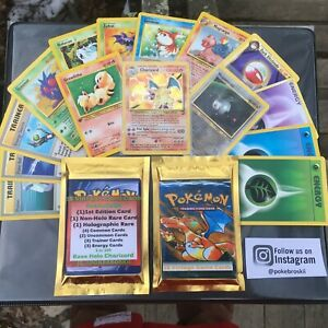 Vintage-WOTC-ReVamped-Pokemon-Booster-Packs-15-Cards-GUARANTEED-HOLO-RARE-1ST-ED