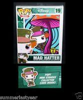 Funko Pop Alice In Wonderland mad Hatter Juniors T-shirt Hot Topic Exclusive