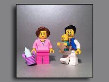 Lego Figuren Minifiguren City Expert Creator Baby im Korb mit Nuckelflasche