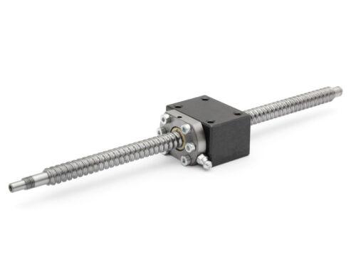 SET Kugelumlaufspindel SFU1204-DM 435mm mit Spindelmutterblock für Easy-Mechatr