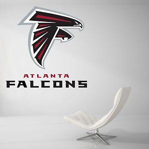 Atlanta Falcons Football Nfl Wall Decal Vinyl Decor Room