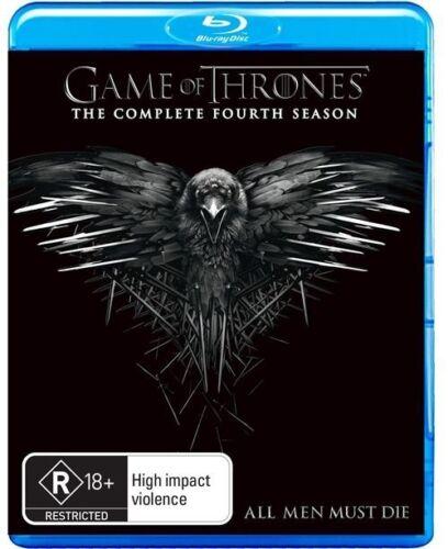 1 of 1 - Game Of Thrones SEASON 4 : NEW Blu-Ray