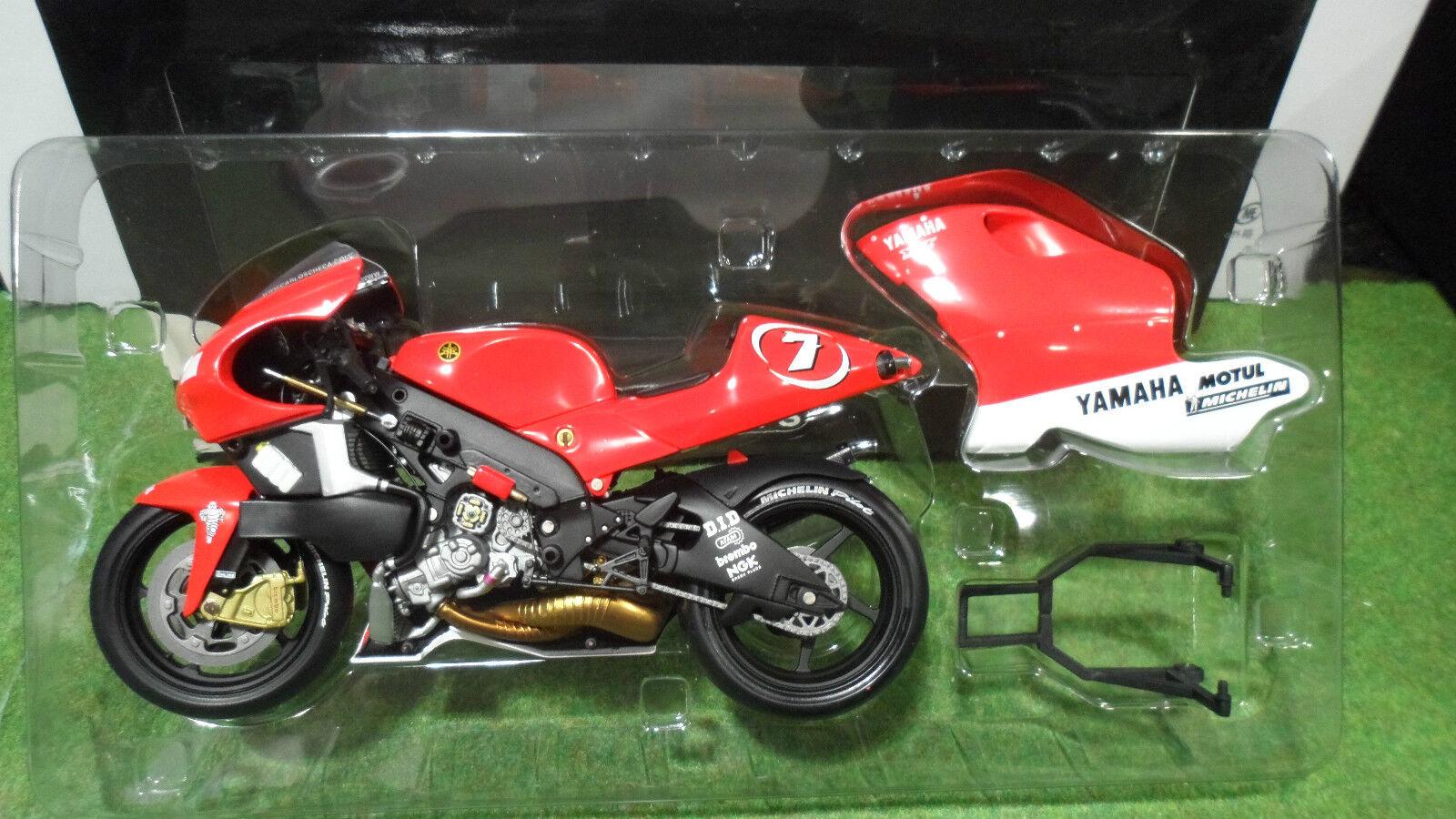 MOTO YAMAHA YZR 500 CHECA  7 de 2001 au 1 12 Minichamps 122016307 miniature