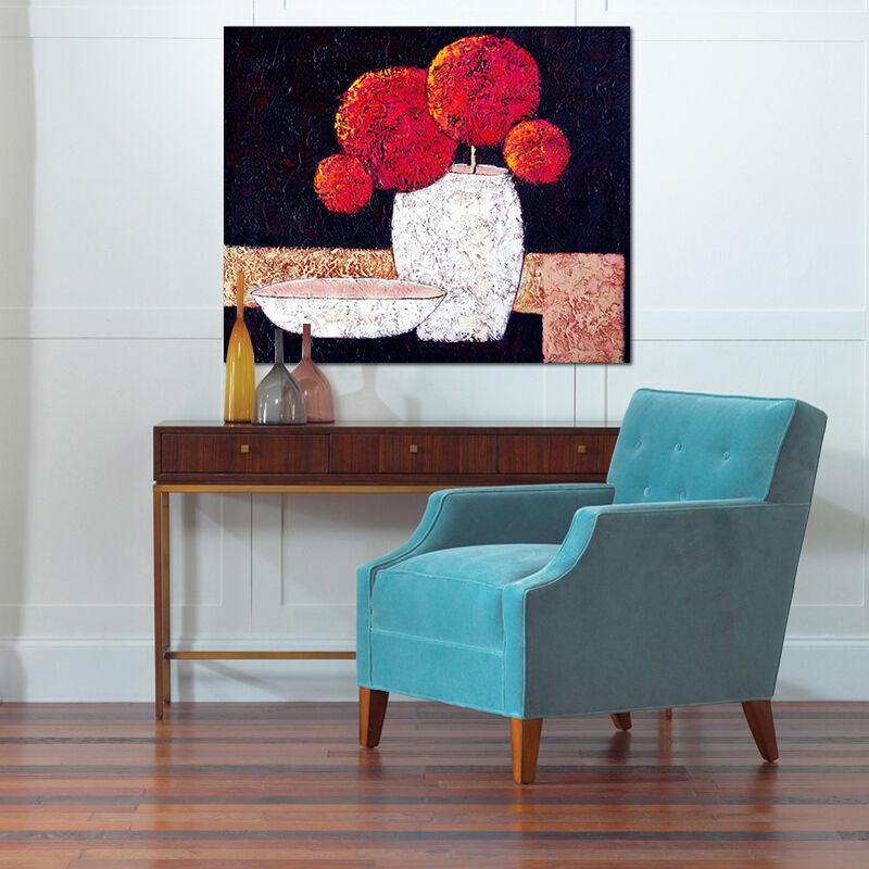 3D Weiß Vase rot Blaumen 9754  Fototapeten Wandbild BildTapete AJSTORE DE Lemon