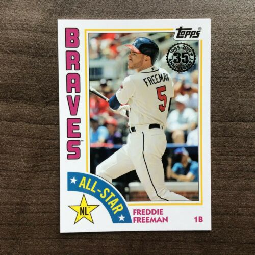 2019 Topps Series 2 1984 Topps 35th Anniversary All-Star Insert ~ Pick your Card