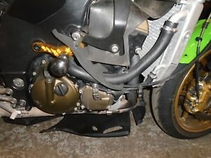 Kawasaki Zx10r Ninja 2004 2005 Engine 18000 Miles Used Motorcycle Parts Ebay