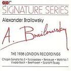 Brailowsky: The 1938 London Recordings (1993)