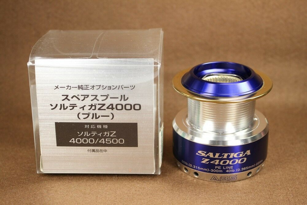 Spare Spool for Daiwa SALTIGA Z 4000 Spinning Reel [Excellent]
