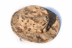 6a57ad3ab19 NWT NWU Type II Navy Seal AOR1 desert marpat Boonie Hat SUN COVER