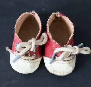 Vintage-Original-Madame-Alexander-red-Saddle-Oxford-Shoes-for-18-034-doll
