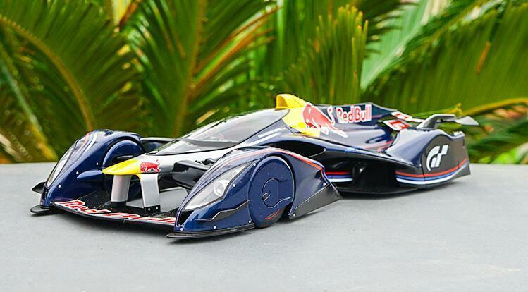 AUTOart 1 18 Alloy Die Casting Modèle rouge Bull X2014 Ventilateur de voiture GT5 RACING CAR MODEL