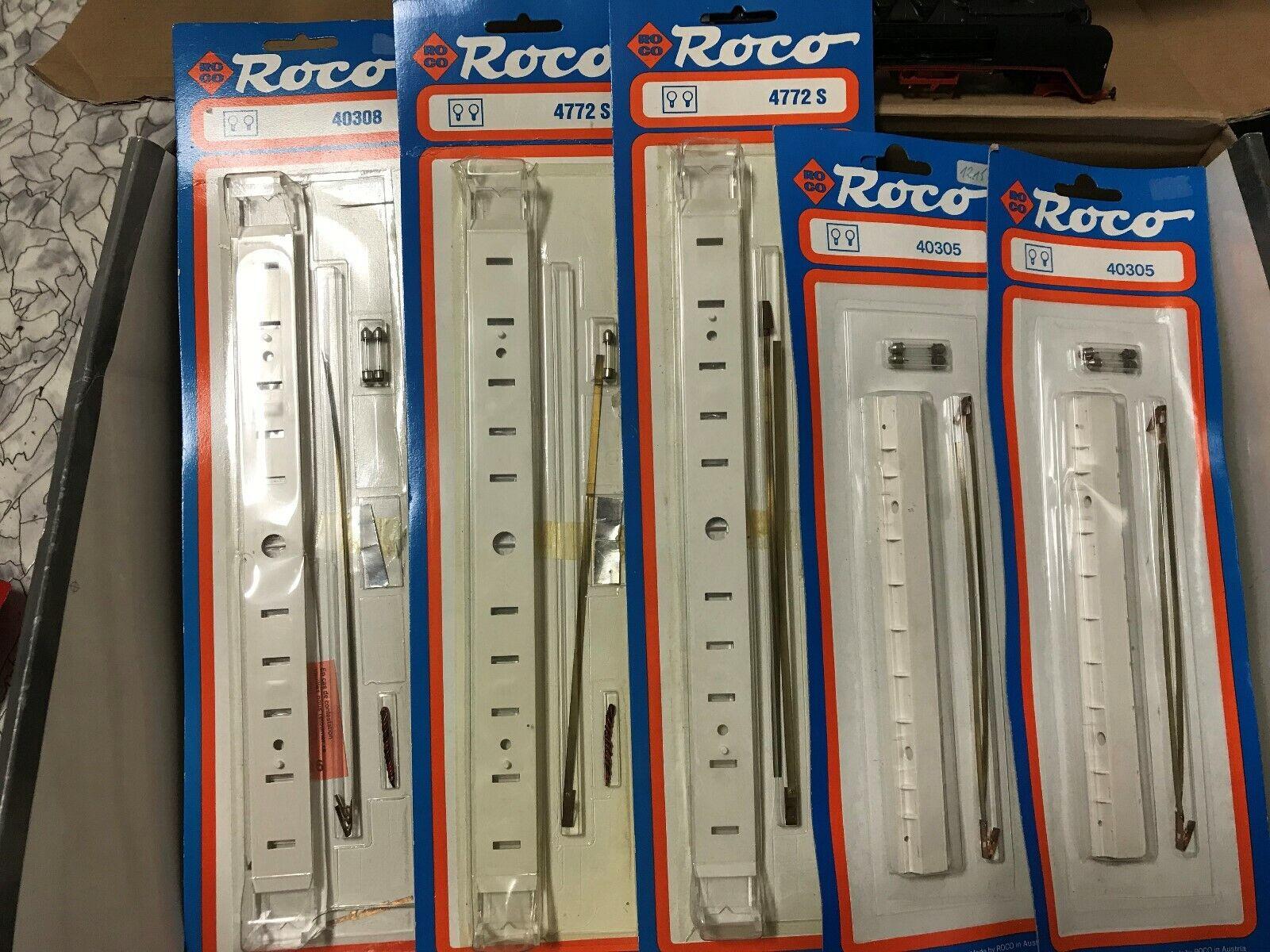 ROCO h0 40305 40308 4772s 5 x Éclairage Intérieur aux voitures particulières, nouveau dans neuf dans sa boîte