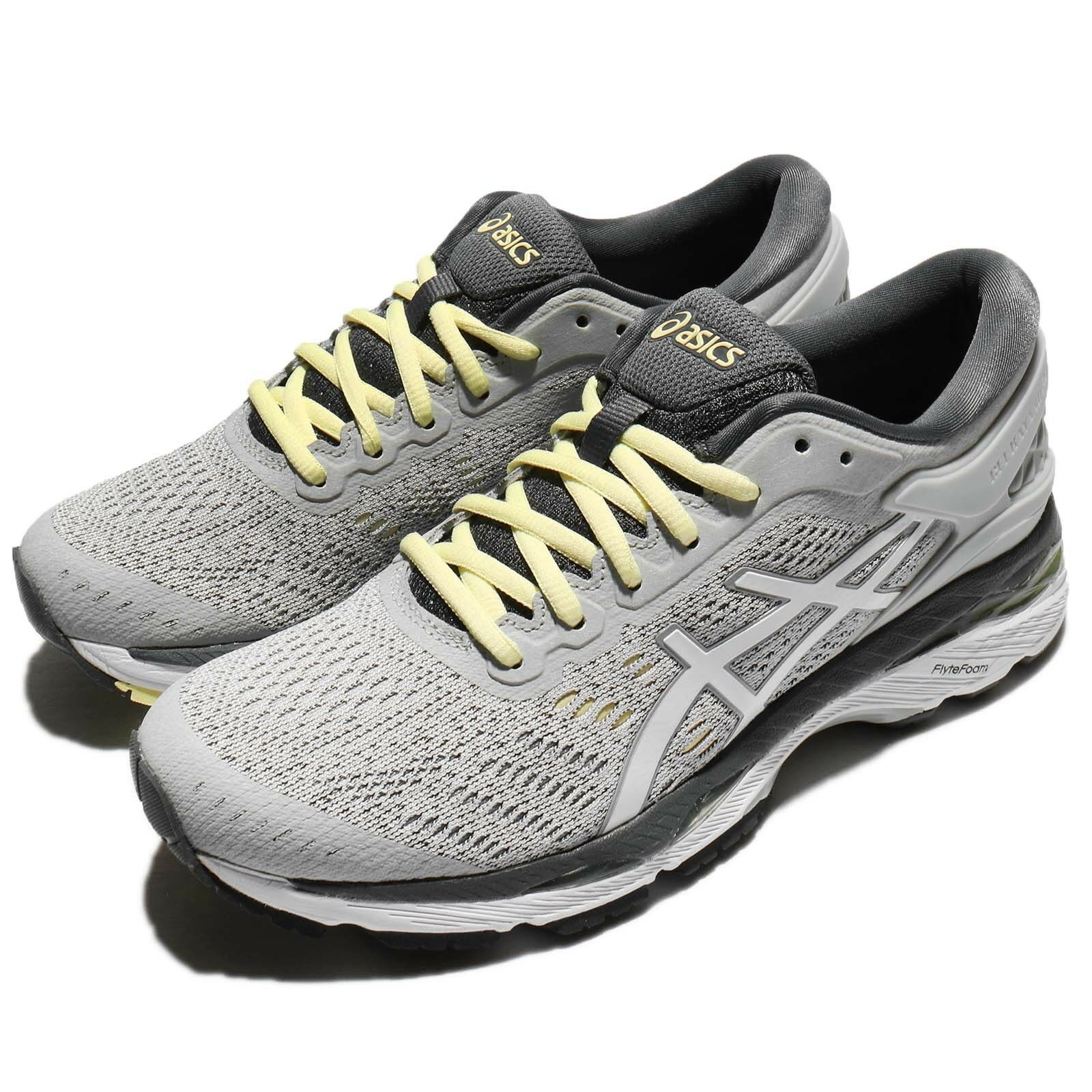 Asics Gel-Kayano 24 Glacier gris Carbon femmes Running chaussures Trainers T799N-9601