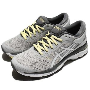 Asics Gel-Kayano 24 Glacier Grey Carbon Women Running Shoes Trainers ... df54f95eb6