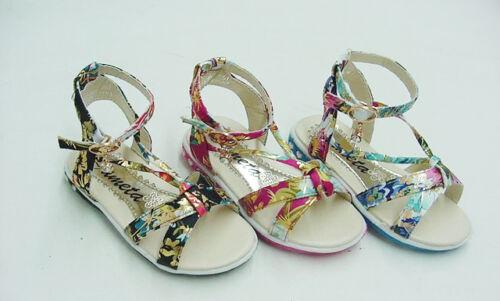 Infant Floral  Beach  Sandals Sz4-9 BUY 1 GET 1 flipflop FREE