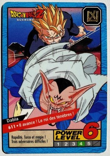 Carte à l/'unité Reg Carddass Dragon Ball Z Le Grand Combat Part 4 14-1996