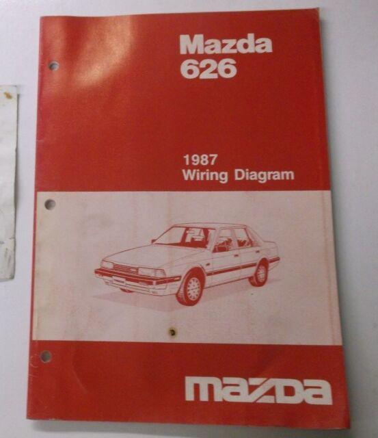1987 MAZDA 626 WIRING DIAGRAM | eBay