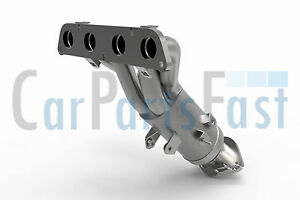 TY6053T Quality Replacement Type Approved Exhaust Manifold Catalytic Converter