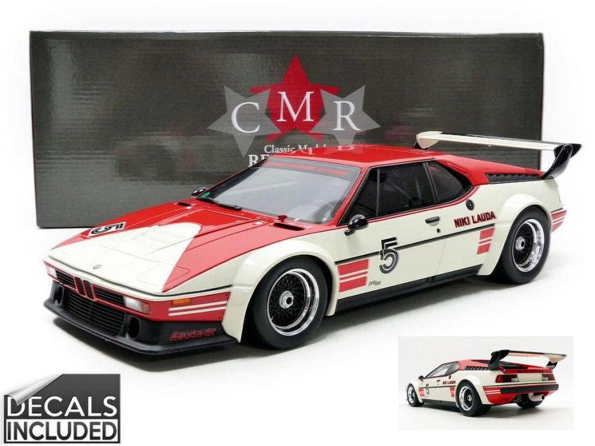 Bmw M1 Procar  5 Winner Procar Series 1980 N. Lauda 1 12 Model CMR