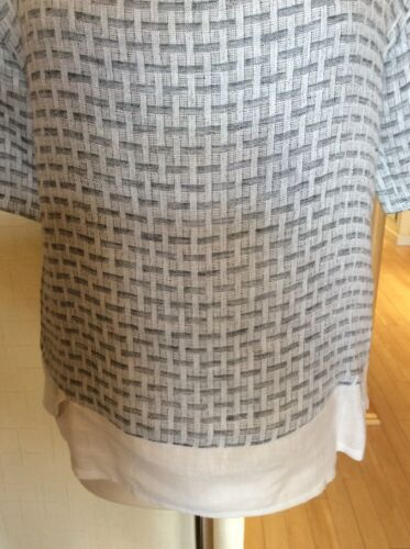 Cream Rrp Top Block Grey £93 Rock £37 Pattern Size Eden Black Bnwt Xs Now wXvgx5q