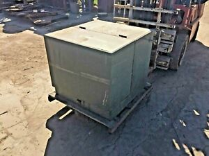 Details about Cooper 100 KVA Oil Filled Pad Mount Transformer HV 4160 volts  Sec 240/120 volts