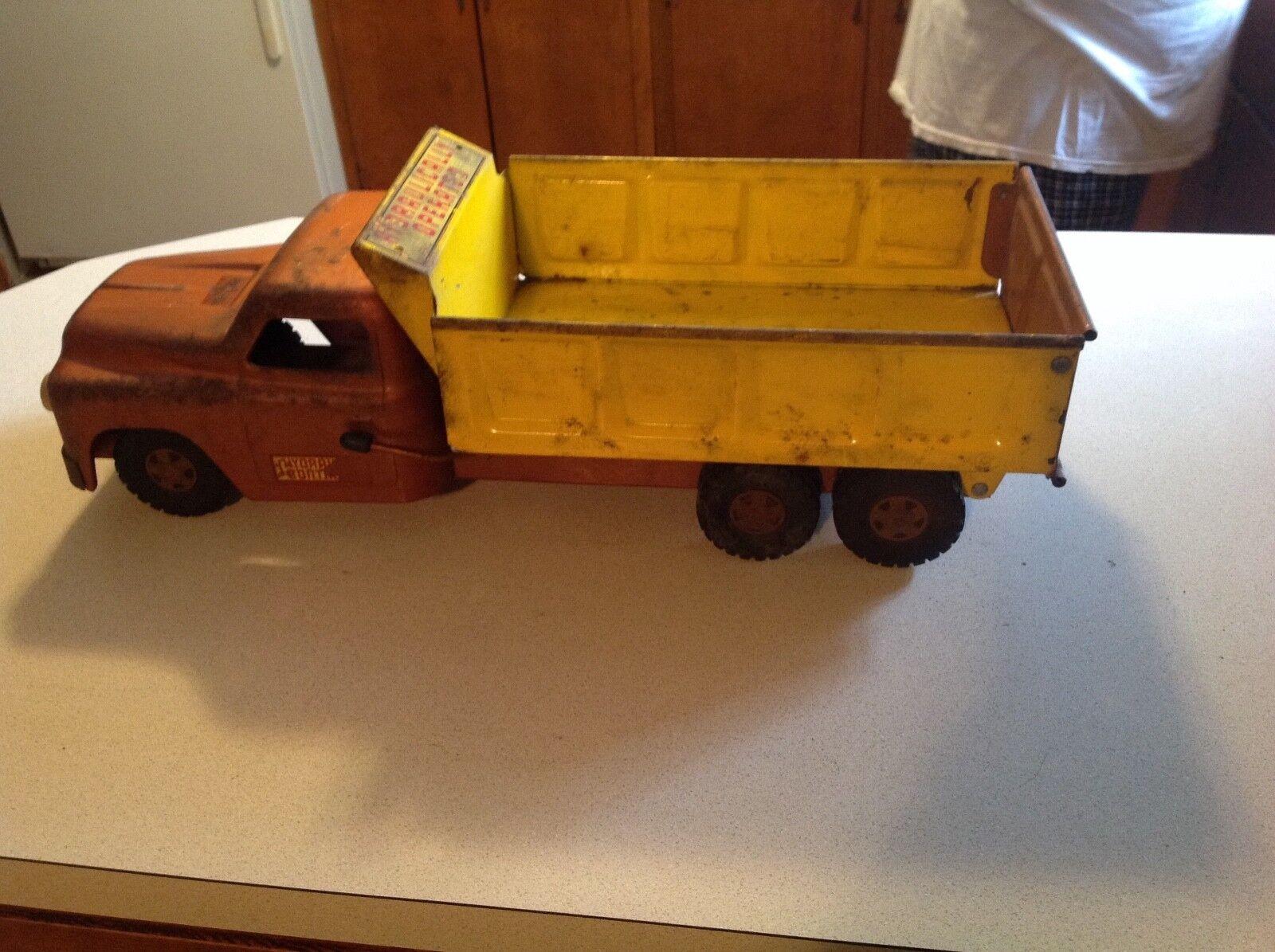 Vintage Structo à Commande Hydraulique jouet camion benne
