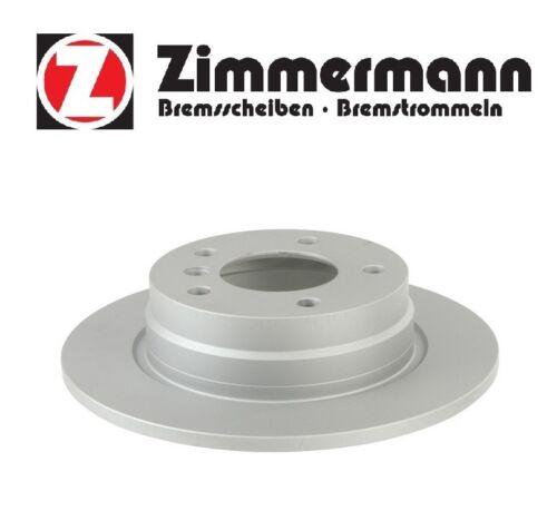 BMW E36 3-Series Rear Left Fits Right Brake Disc Rotor Zimmermann 150 1270 20