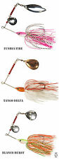 Job lot 3 x Spinbait spinner fishing lure mixed blades FISHIN ADDICT 1st class